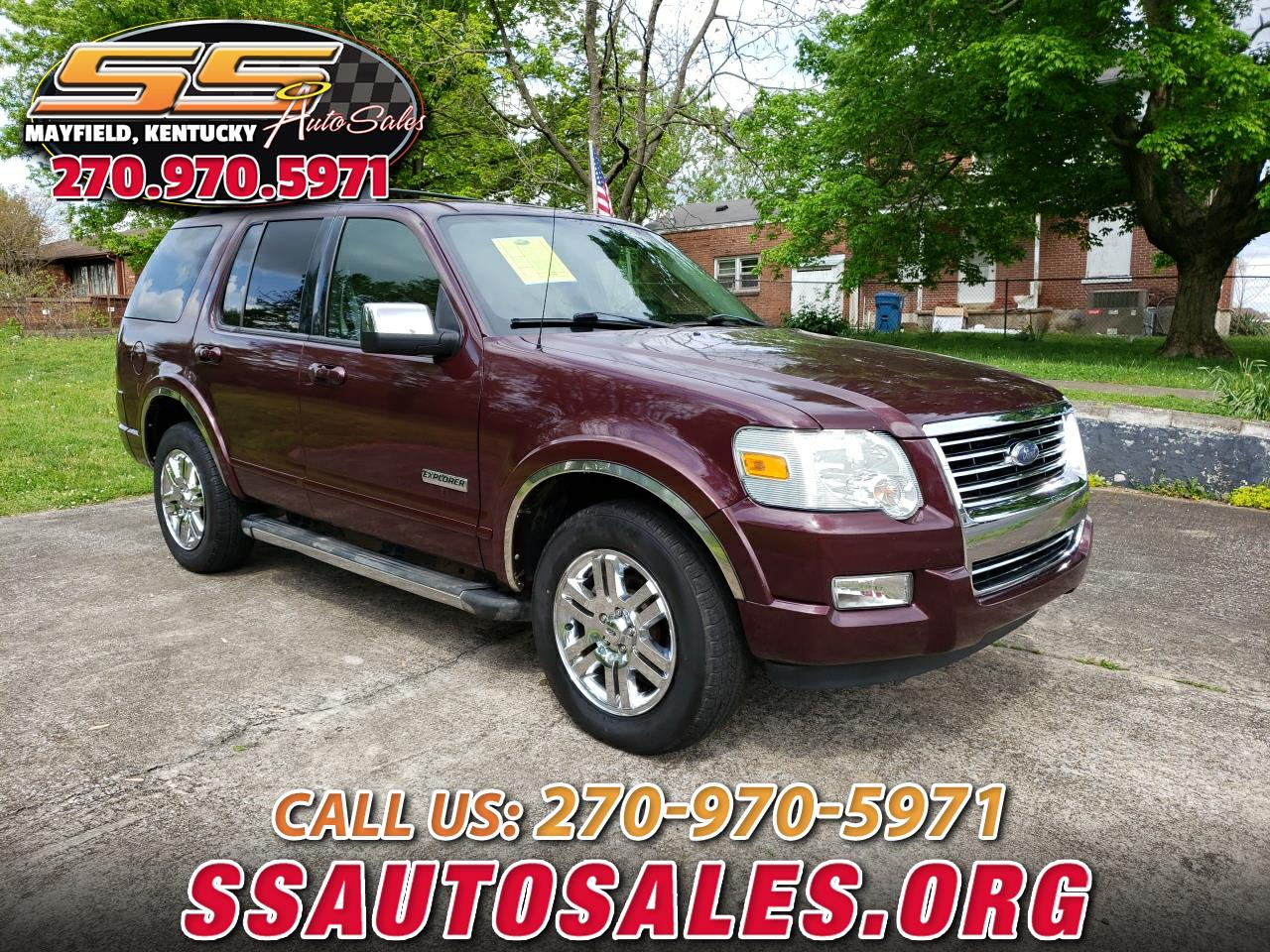 "Ford Explorer 4dr 114"" WB 4.6L Limited 4WD 2006"