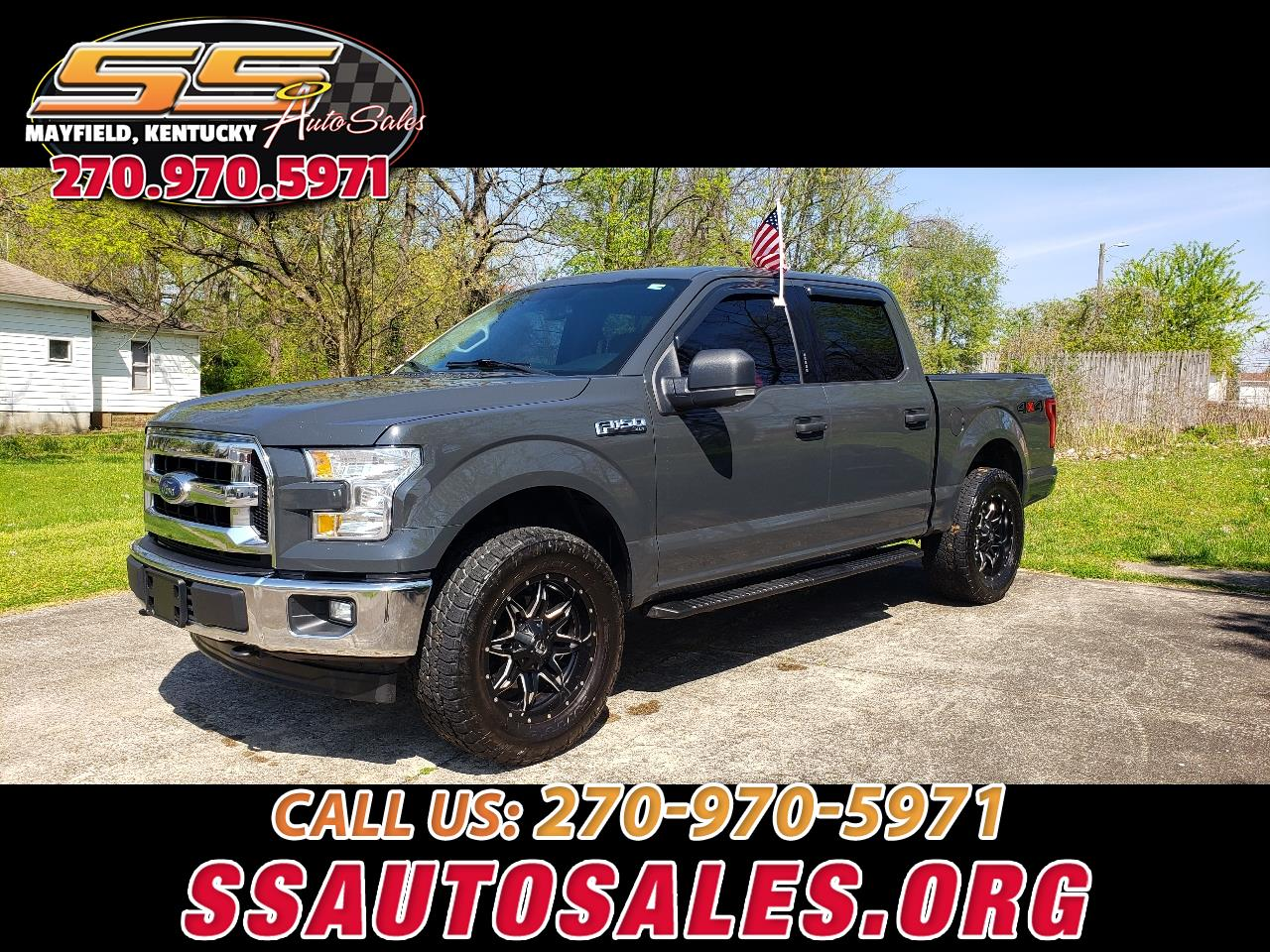 "Ford F-150 4WD SuperCrew 157"" XLT 2017"