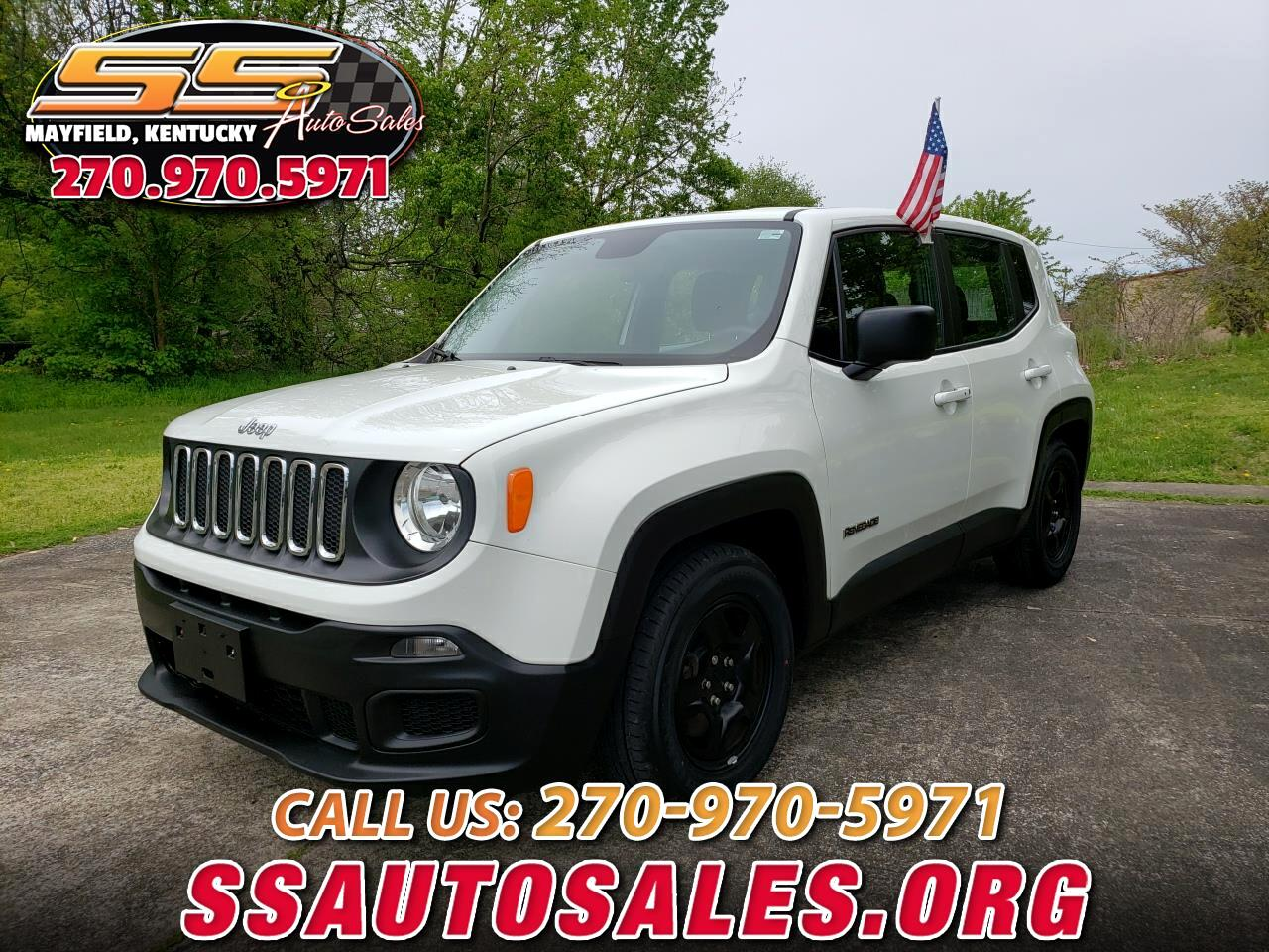 Jeep Renegade FWD 4dr Sport 2016