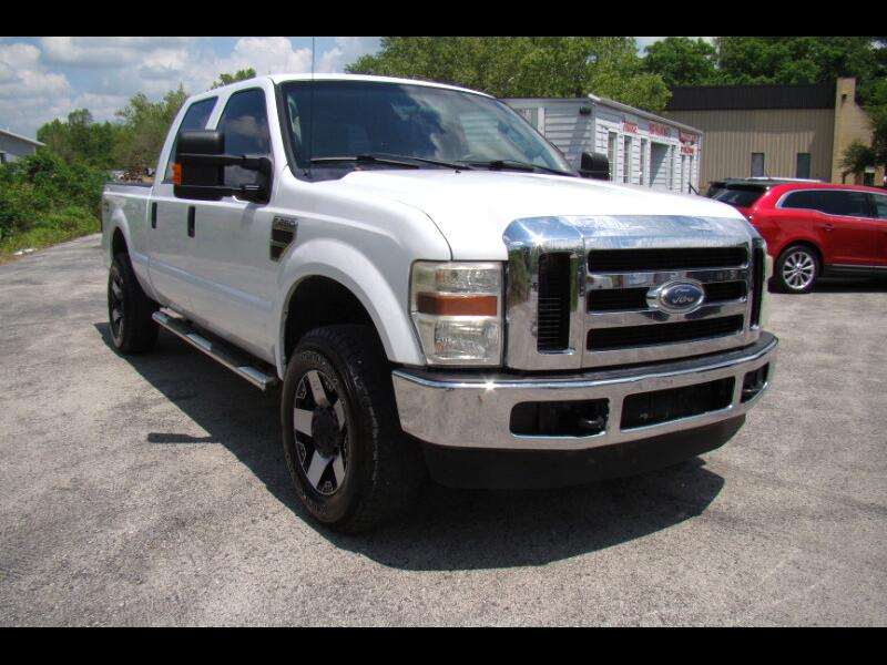 2008 Ford F-250 SD XLT CREWCAB LONG BED 4WD W/LEATHER