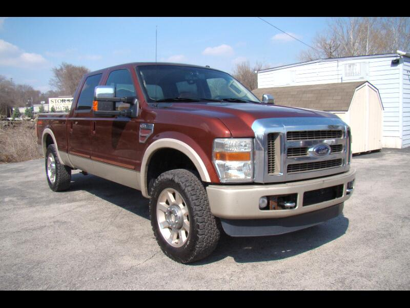 2008 Ford F-250 SD KING RANCH CREWCAB 4X4 SHORT BED