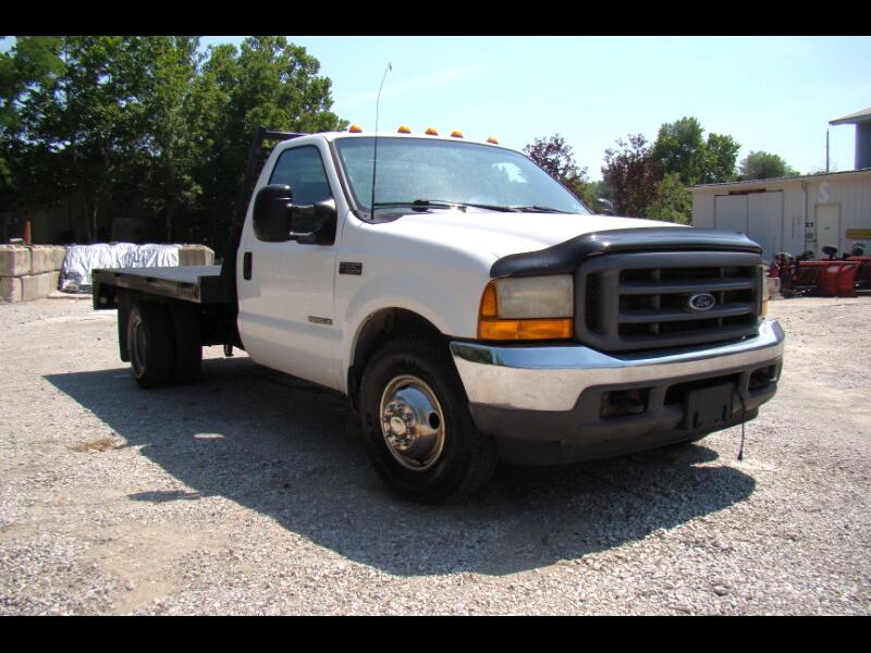 2001 Ford F-350 SD XLT 2WD DULL REAR WHEEL 10FT FLAT BED