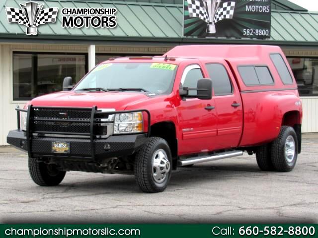 """2011 Chevrolet Silverado 3500HD 4WD Crew Cab 167.7"""" DRW LT"""