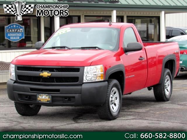 """2009 Chevrolet Silverado 1500 4WD Reg Cab 133.0"""" Work Truck"""