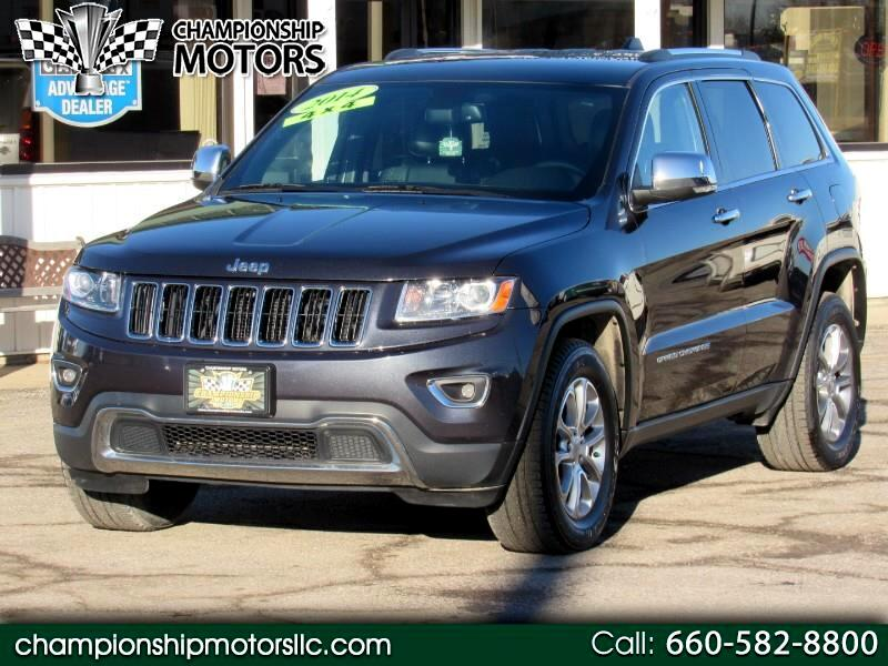 2014 Jeep Grand Cherokee 4WD 4dr Limited