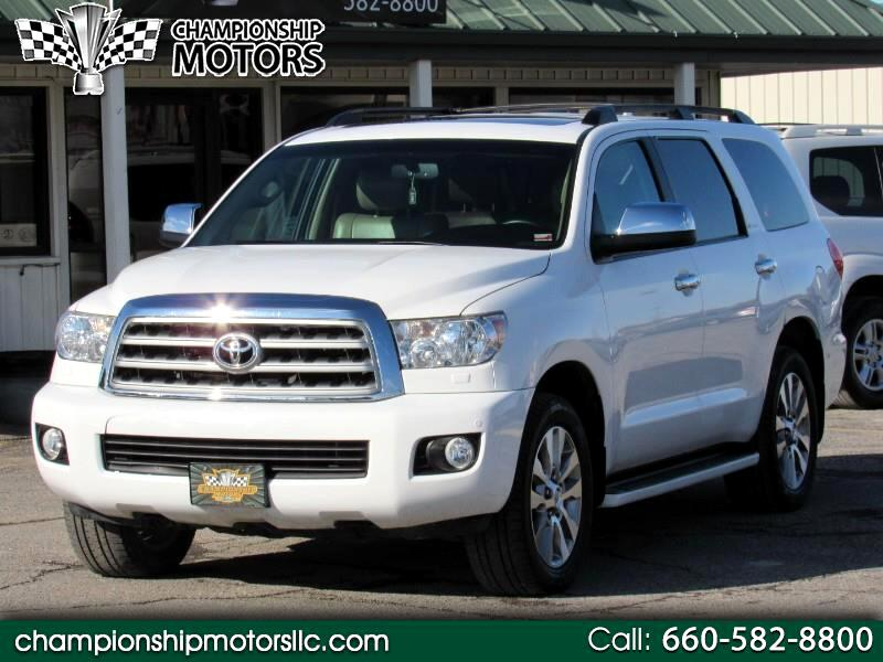 2012 Toyota Sequoia 4WD 5.7L FFV Limited (Natl)