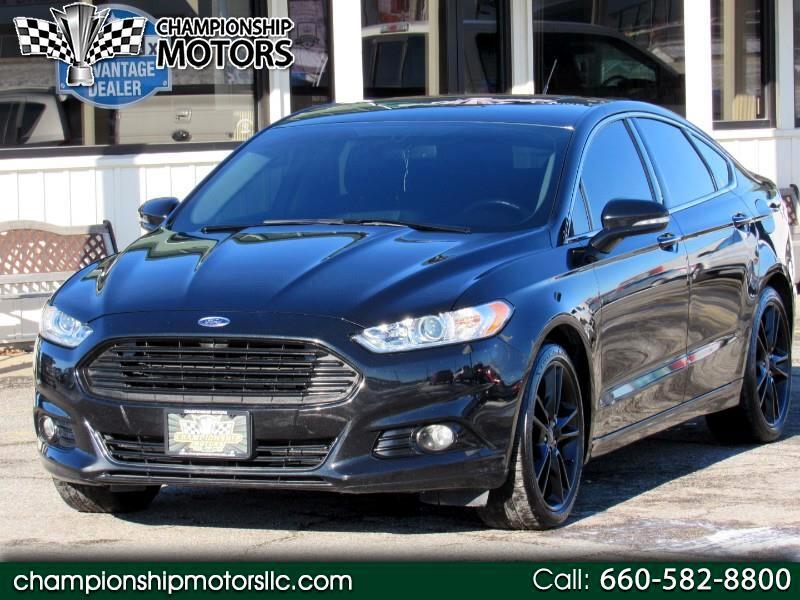 2013 Ford Fusion 4dr Sdn Titanium FWD