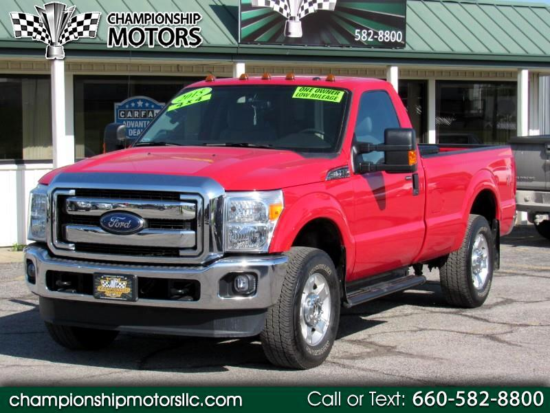 2015 Ford Super Duty F-250 SRW 4WD Reg Cab 137