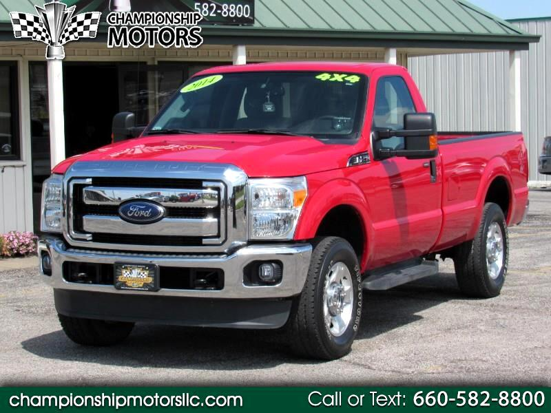 2014 Ford Super Duty F-250 SRW XLT 4WD Reg Cab 8' Box