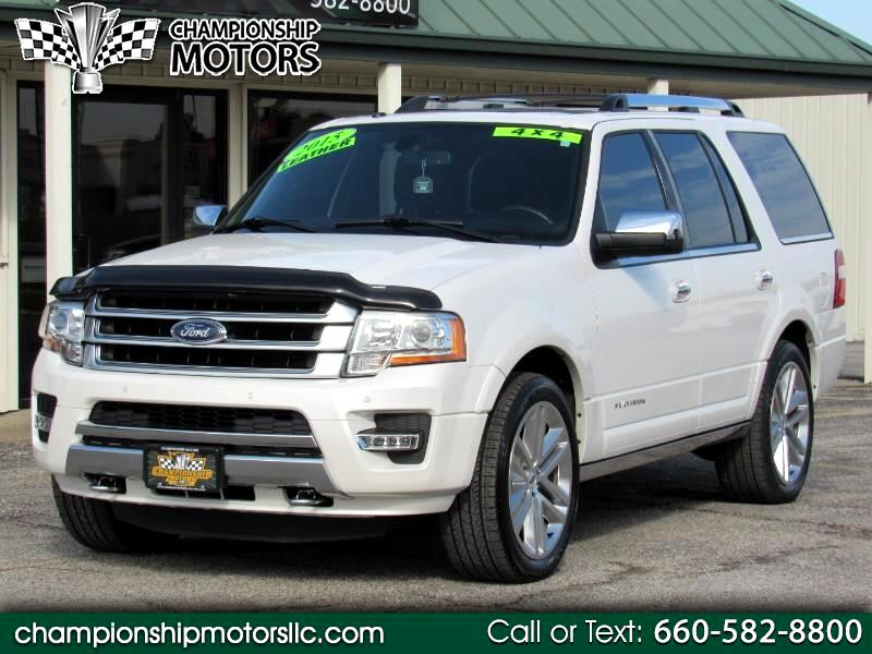 2015 Ford Expedition 4WD 4dr Platinum