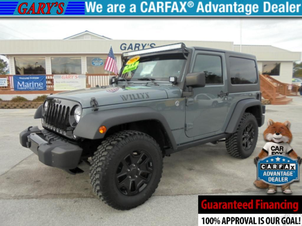 2015 Jeep Wrangler WILLY'S WHELLER EDITION 4X4 2DR HARD TOP