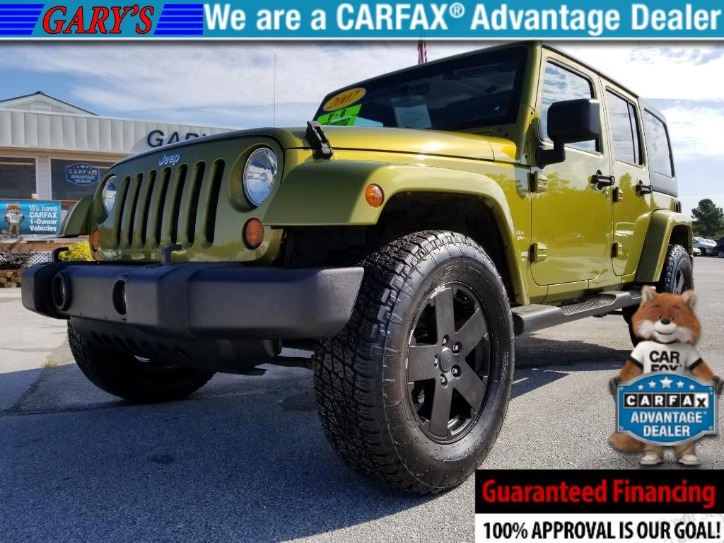2007 Jeep Wrangler Unlimited Sahara 2WD