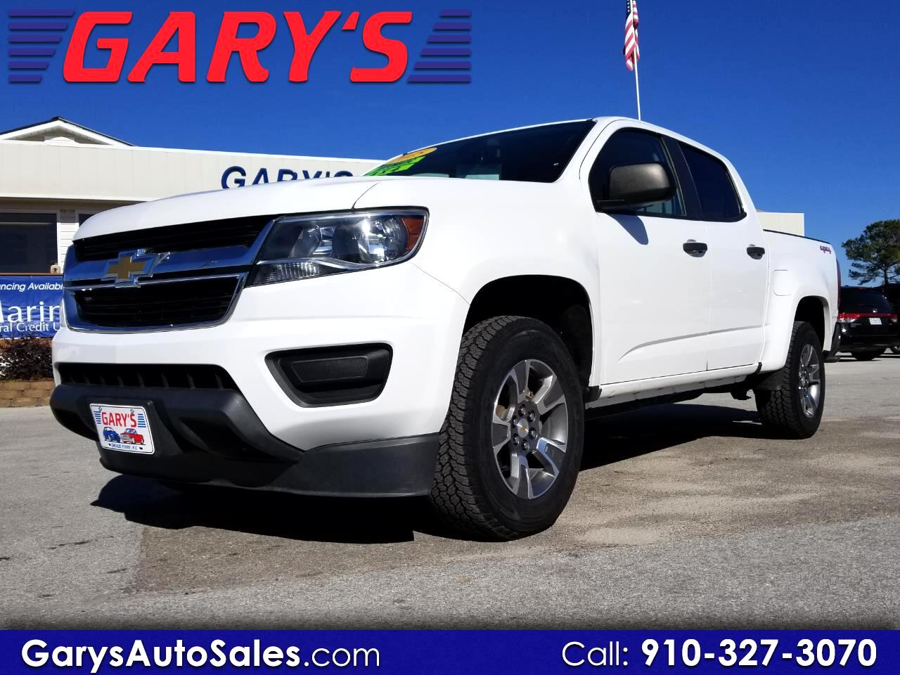 2015 Chevrolet Colorado WT Crew Cab 4WD Short Box
