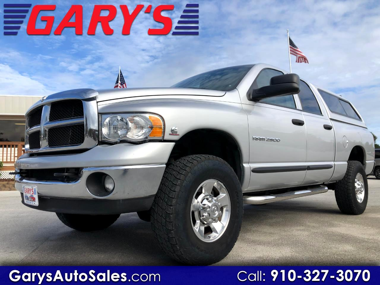 Dodge Ram 2500 SLT Quad Cab Short Bed 4WD 2005