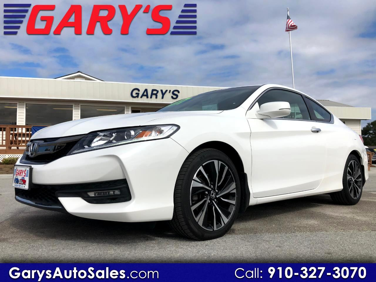 2016 Honda Accord EX-L V6 Coupe AT