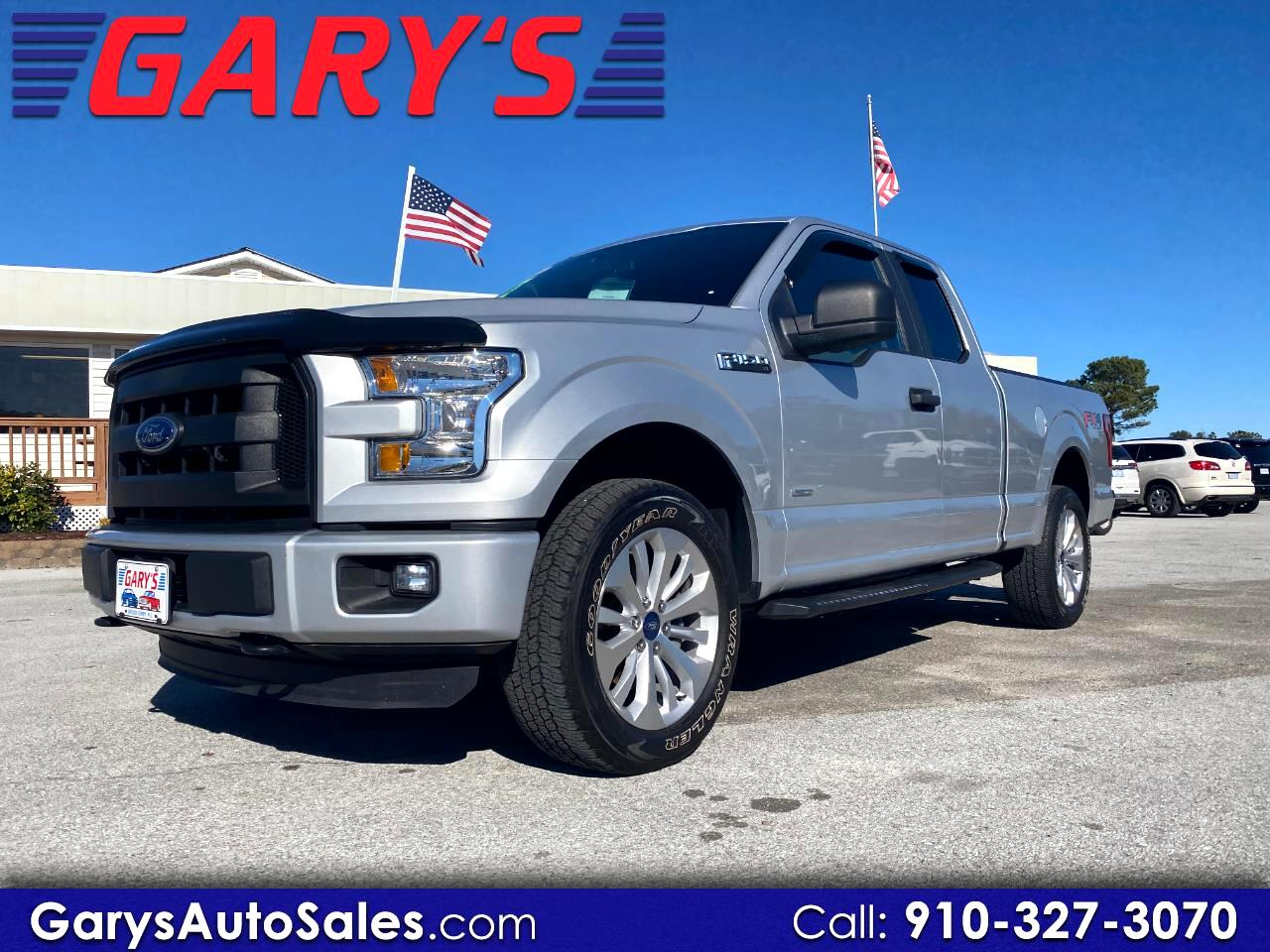 Ford F-150 XL SuperCab 6.5-ft. Bed 4WD 2016