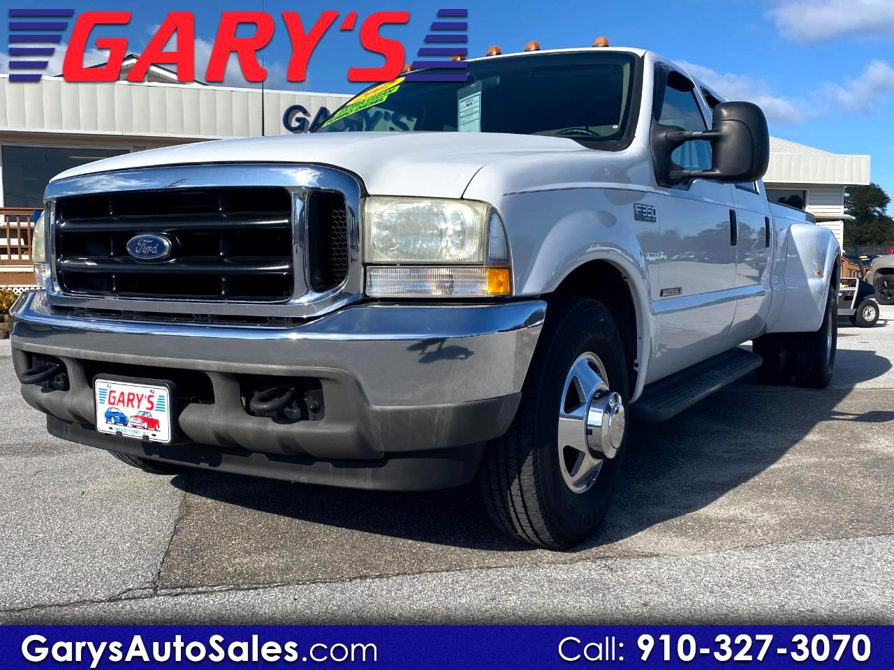 Ford F-350 SD XLT Crew Cab Long Bed 2WD DRW 2002