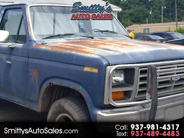 1986 Ford F-150 Regular Cab 4WD