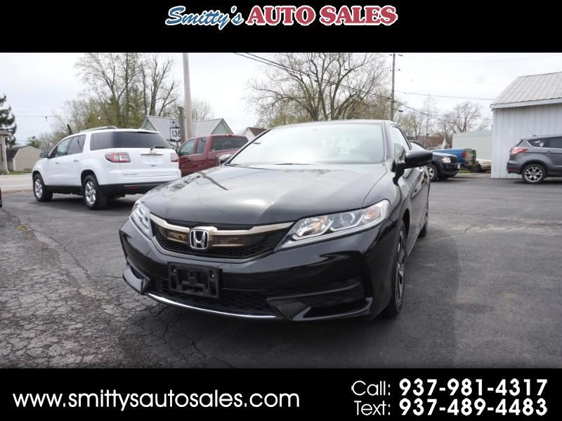 2016 Honda Accord LX-S Coupe CVT