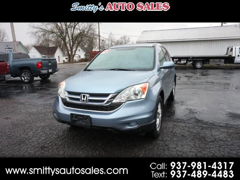 Honda CR-V EX-L 4WD 5-Speed AT with Navigation 2010