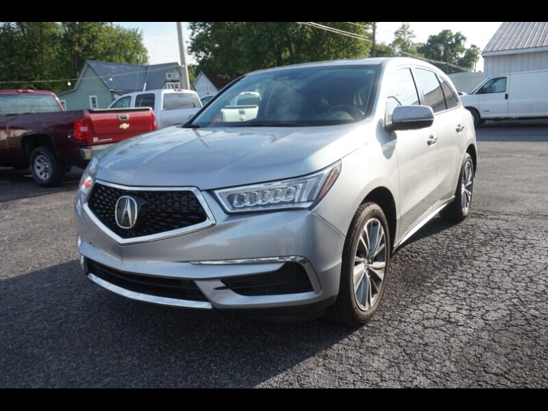 Acura MDX SH-AWD 9-Spd AT w/Tech Package 2017