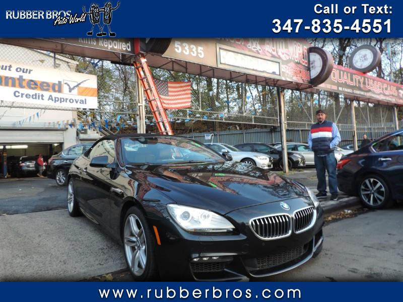2015 BMW 6-Series 640i xDrive Convertible