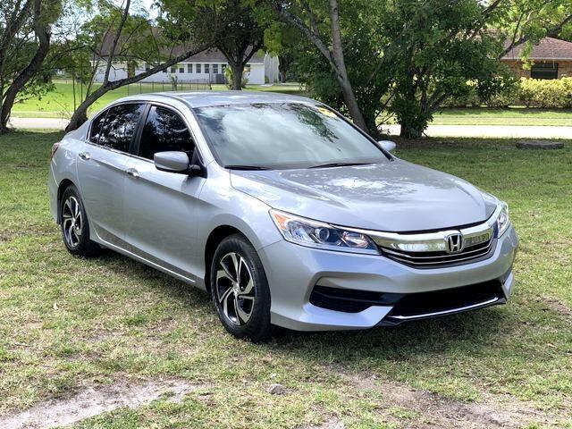 Honda Accord LX Sedan CVT 2017