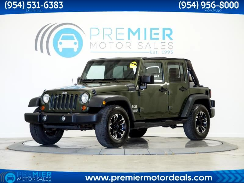 Jeep Wrangler Unlimited X 2WD 2008