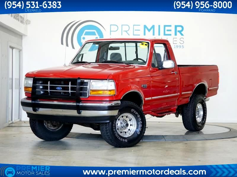 Ford F-150 Special Reg. Cab Short Bed 4WD 1995
