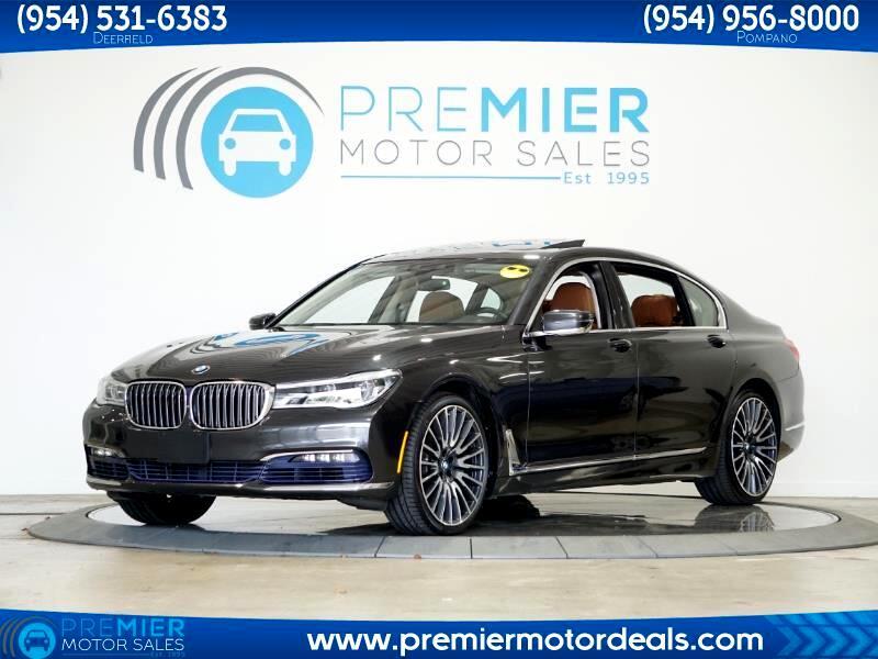 BMW 7-Series 750i 2016