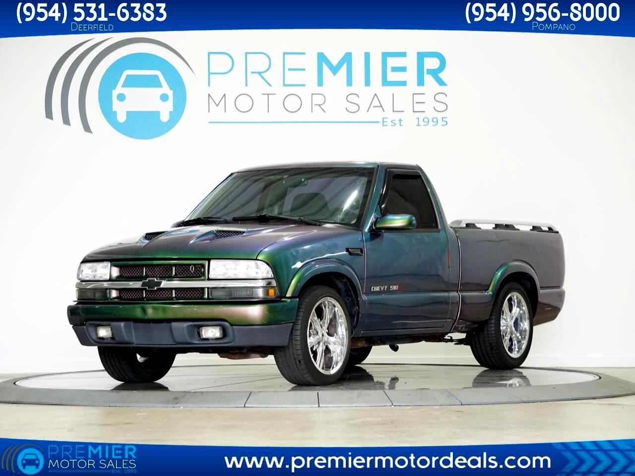 Chevrolet S10 Pickup Reg. Cab Short Bed 2WD 1998