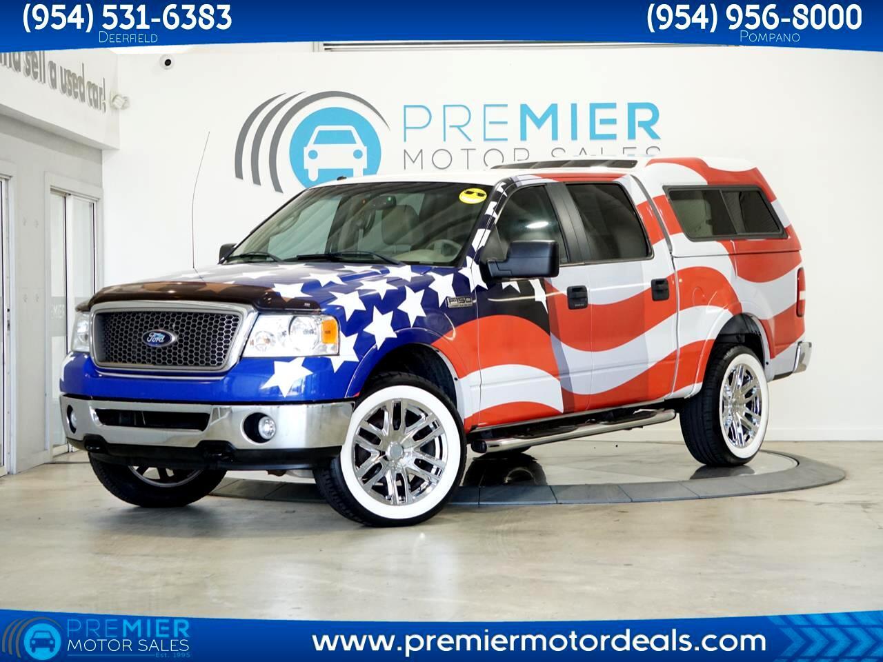 Ford F-150 XLT SuperCrew Short Box 4WD 2007