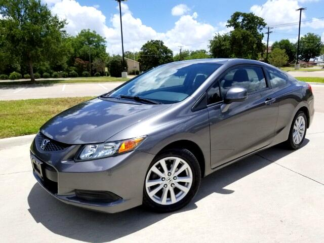 2012 Honda Civic EX-L Coupe with Navigation