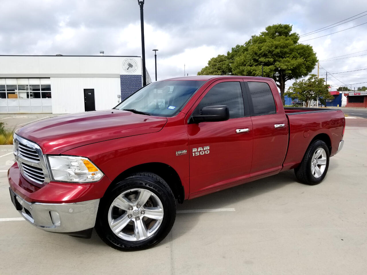 "2014 RAM 1500 Big Horn/Lone Star 4x2 Crew Cab 5'7"" Box"