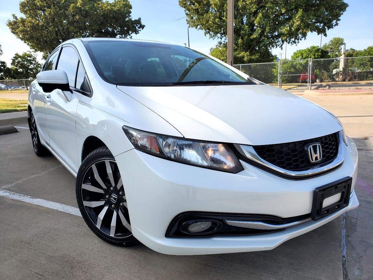 Honda Civic EX-L Sedan CVT 2015