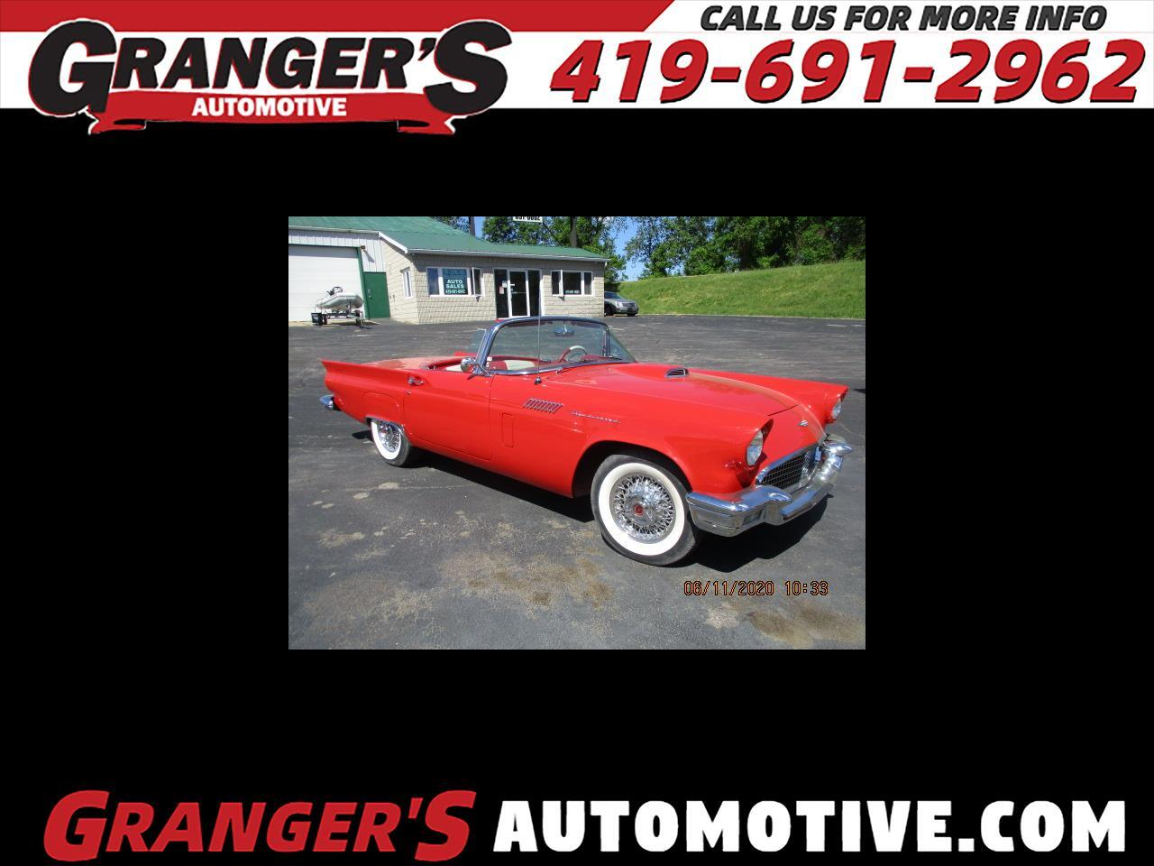 Ford Thunderbird 2dr Convertible Deluxe 1957