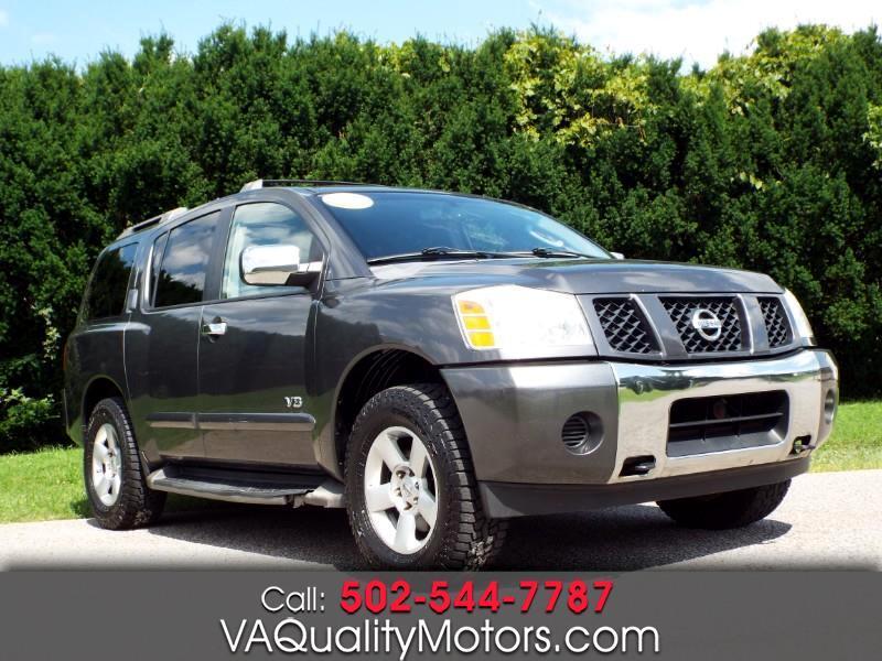 Nissan Armada LE 4WD 2007