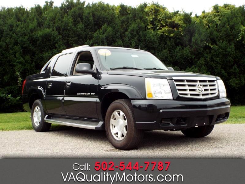 2002 Cadillac Escalade EXT Sport Utility Truck