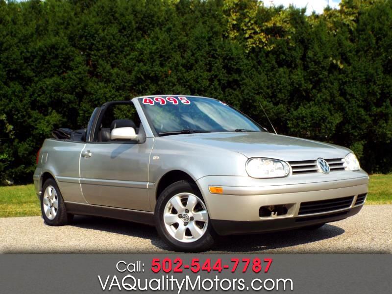 2001 Volkswagen Cabrio GLX