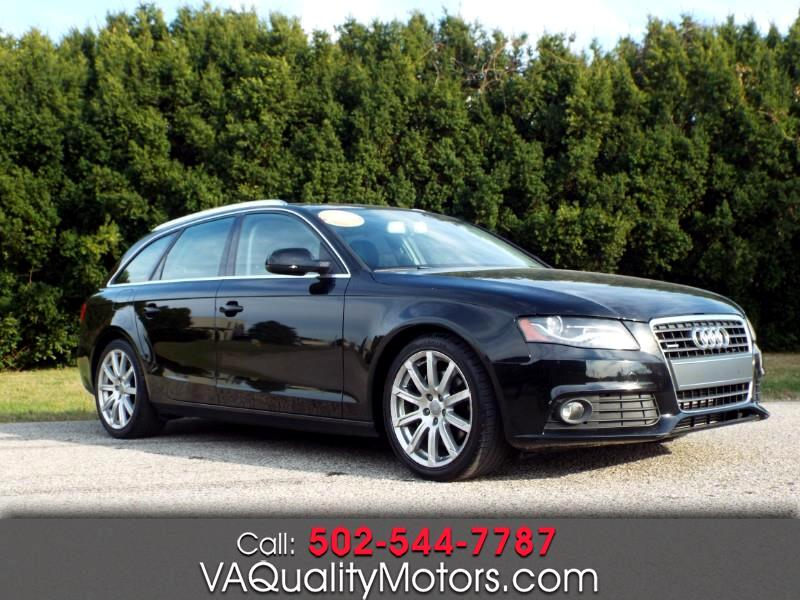 Audi A4 Avant 2.0T quattro Tiptronic 2011