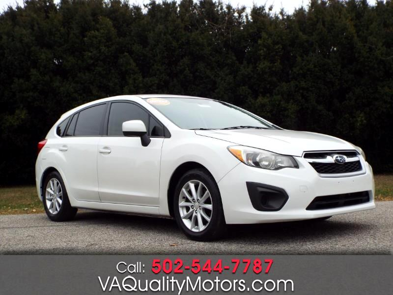 Subaru Impreza Premium 5-Door w/All Weather Package 2012