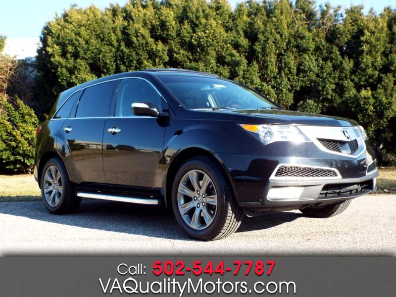 Acura MDX 6-Spd AT w/Advance Package 2011