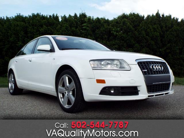 Audi A6 3.2 with Tiptronic 2008