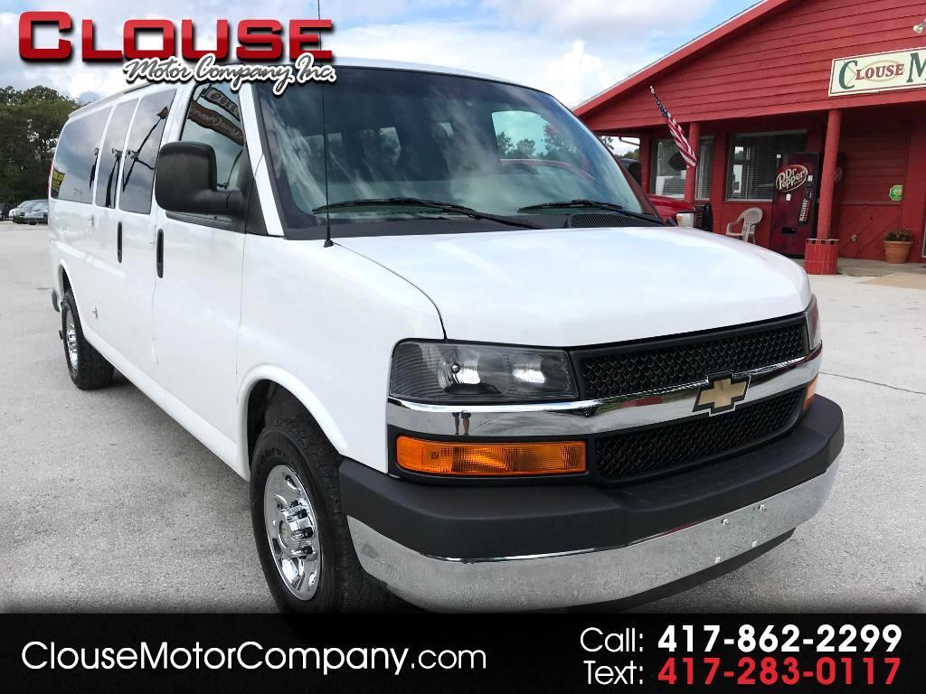 "2014 Chevrolet Express Passenger RWD 3500 155"" LT w/1LT"