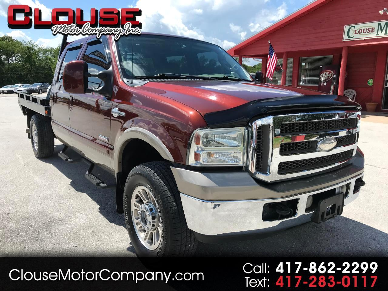 "2006 Ford Super Duty F-250 Crew Cab 156"" King Ranch 4WD"
