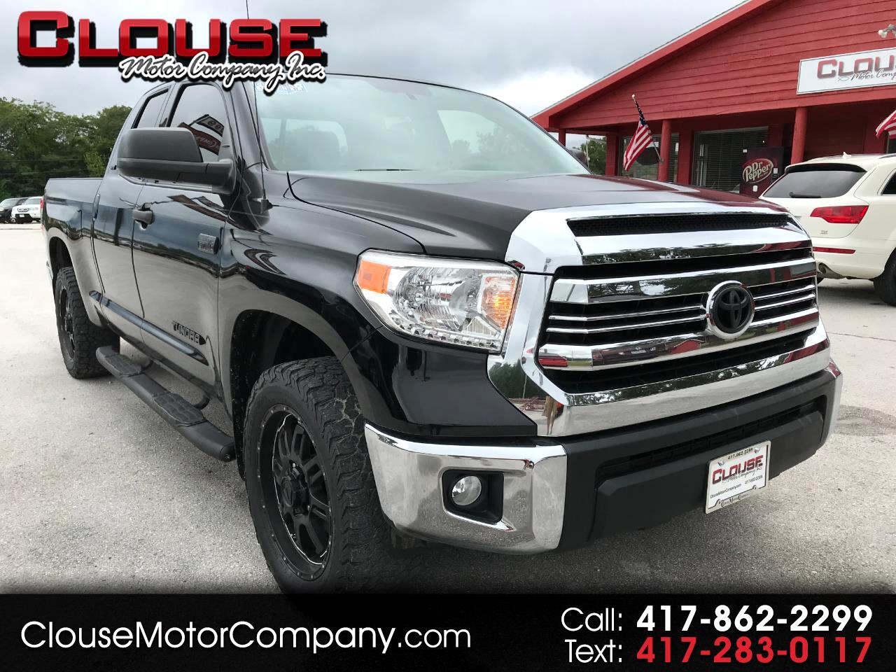 2016 Toyota Tundra 4WD Truck Double Cab 5.7L FFV V8 6-Spd AT SR5 (Natl)