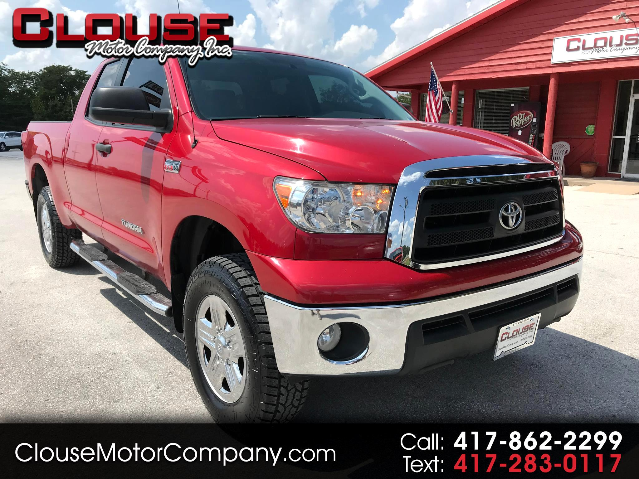 2012 Toyota Tundra 4WD Truck Double Cab 5.7L FFV V8 6-Spd AT (Natl)