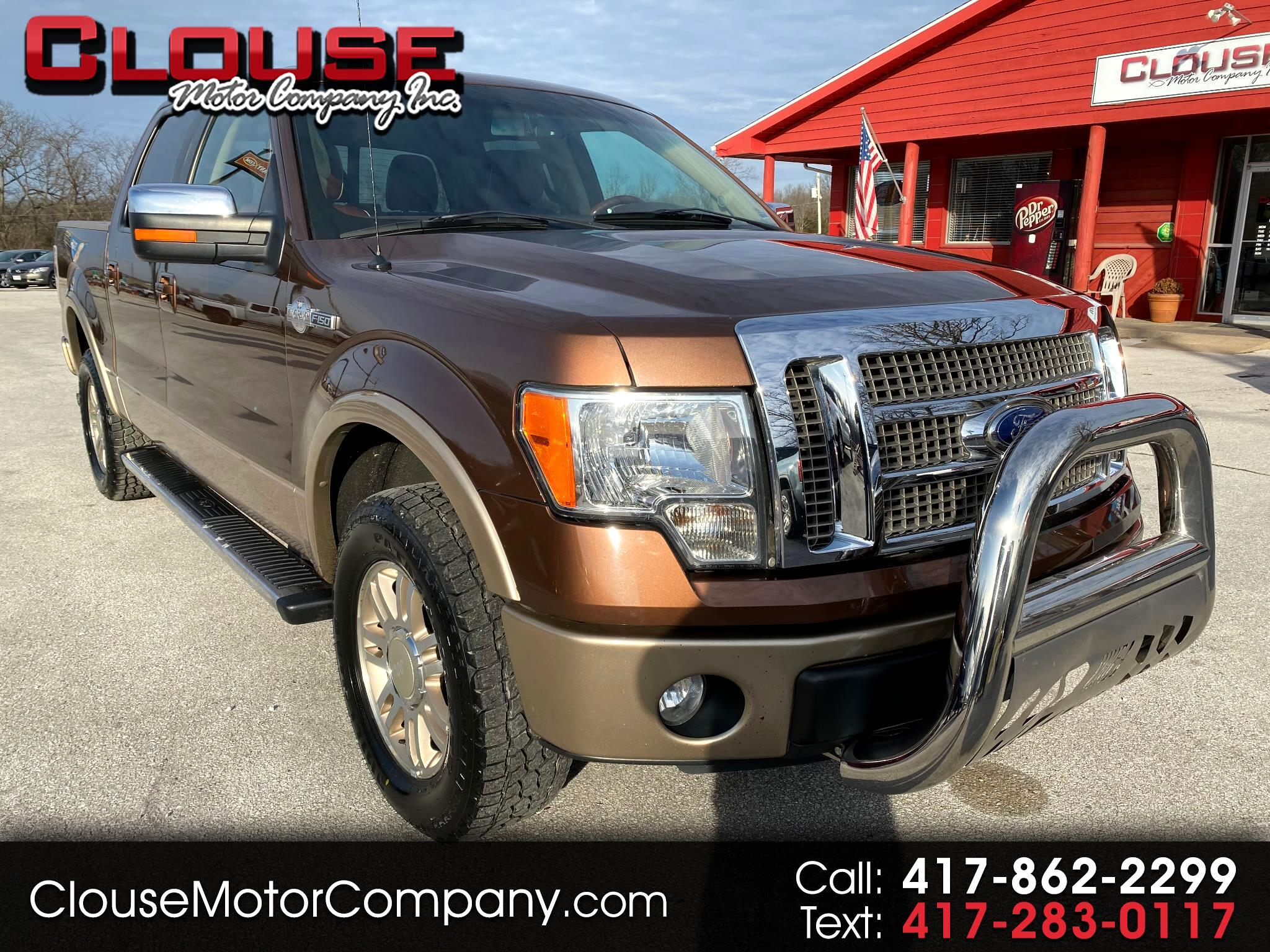"""Ford F-150 4WD SuperCrew 145"""" King Ranch 2011"""