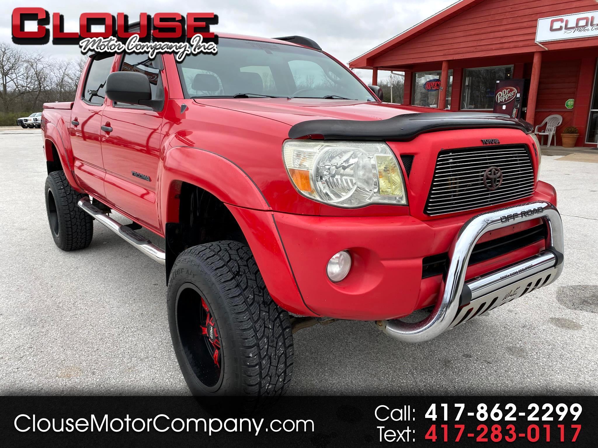 Toyota Tacoma 4WD Double 128 V6 AT (Natl) 2007