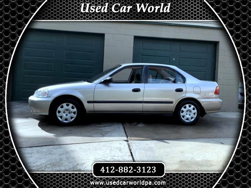 2000 Honda Civic LX sedan